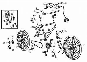 Roadmaster 26 U0026quot  Mountain Bicycle Parts