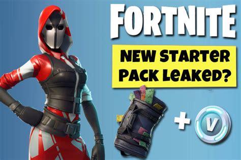 fortnite starter pack  leaked     season