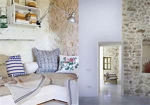 Que Mettre Sur Un Mur En Parpaing Interieur : 15 inspirations d co pour un mur nu joli place ~ Melissatoandfro.com Idées de Décoration
