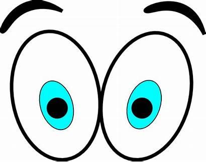 Eyes Cartoon Clip Clipart Clker Cliparts Vector