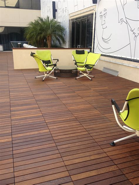decks  outdoor home design ideas  ipe deck tiles
