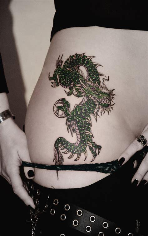 Women Dragon Tattoos