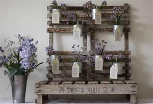 Plan De Table Palette : plan de table fleurs violettes parmes lavandes lilas nature vintage romantique mariage palette ~ Dode.kayakingforconservation.com Idées de Décoration