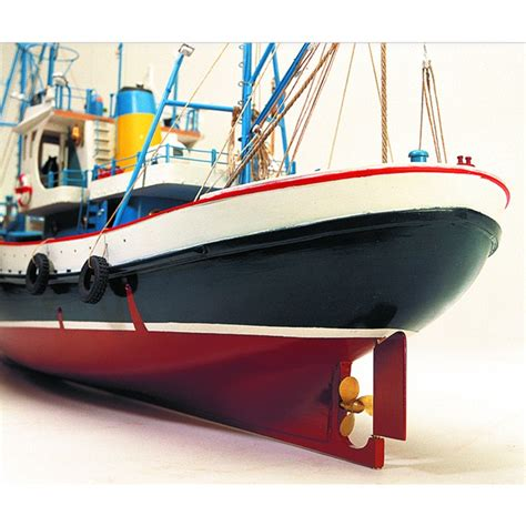 Buy A Boat Kit by Wooden Model Tuna Ship Called Marina Ii Buy This