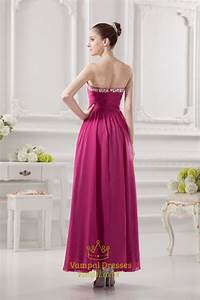 fuschia pink bridesmaids dressesfuschia pink dress for With fuschia wedding dresses