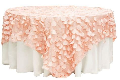 Champagne tablecloths Petal Baby Shower wedding
