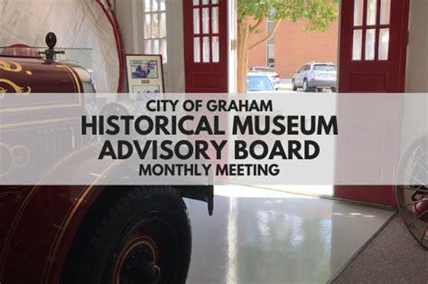 Virtual – Planning Board Meeting – City of Graham, NC
