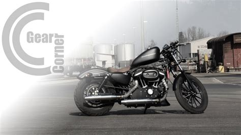 Harley Davidson Bob Modification by Harley Davidson Sportster Iron 883 166 Custom Bobber
