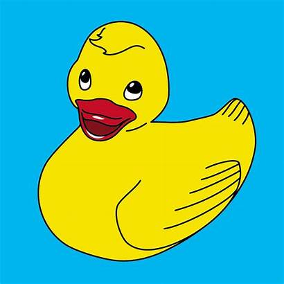 Rubber Clip Ducky Duck Clipart Printable Duckie