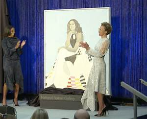 Michelle Obama Unveiled Her Official Portrait – The ...