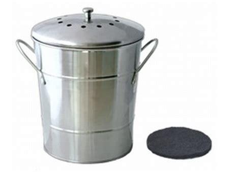 poubelle à compost de cuisine composteur de cuisine composteur de cuisine ecovi avec