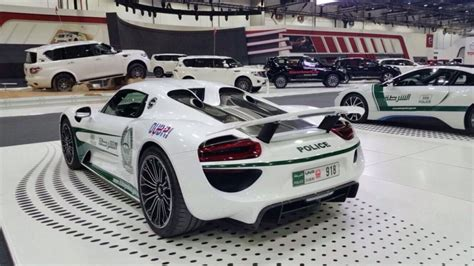 As Dubai Police Get A Porsche 918 Here Are Their Greatest
