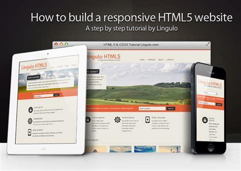web designer tutorial how to build a responsive html5 website a step by step