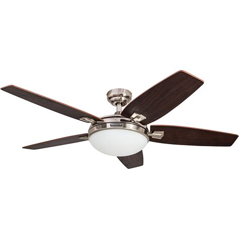 60 inch ceiling fan with light and remote honeywell carmel ceiling fan brushed nickel finish 48
