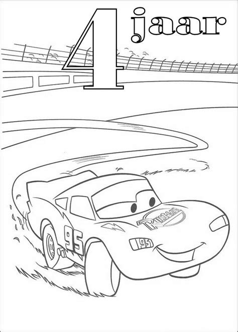 Mcqueen Kleurplaat by Kleurplaat Cars