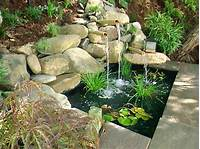 backyard water fountains Water Features for Any Budget | DIY