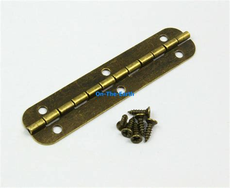 antique brass jewelry box hinge long hinge xmm
