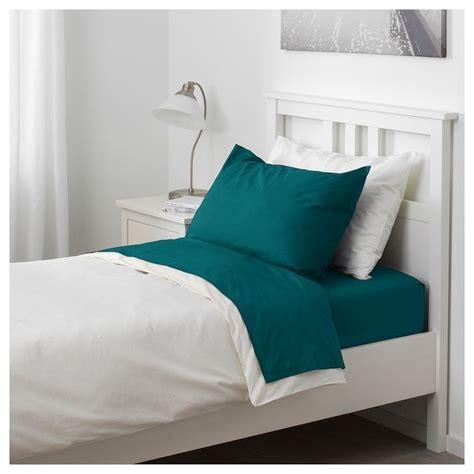 NATTJASMIN Sheet set dark green Twin IKEA in 2020