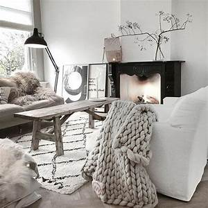 1001 idees de decoration pour votre salon cosy et beau With idee deco salon cocooning