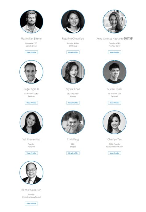 Top Names In The Marketing Space On Linkedin Singapore In