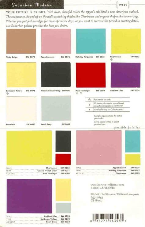 suburban modern paint pallete interiors by color