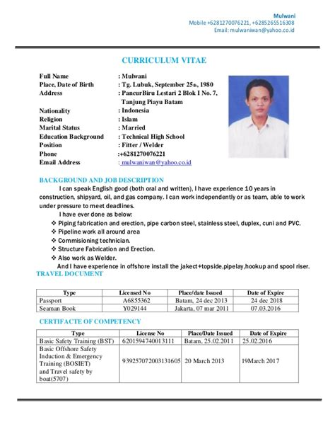 Type De Cv by Two Types Of Curriculum Vitae Writing A Summary Of Your