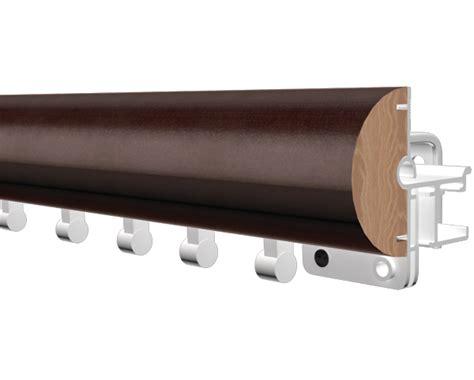 Kirsh Drapery Hardware - kirsch 2 inch estate wood trends ripplefold at designer
