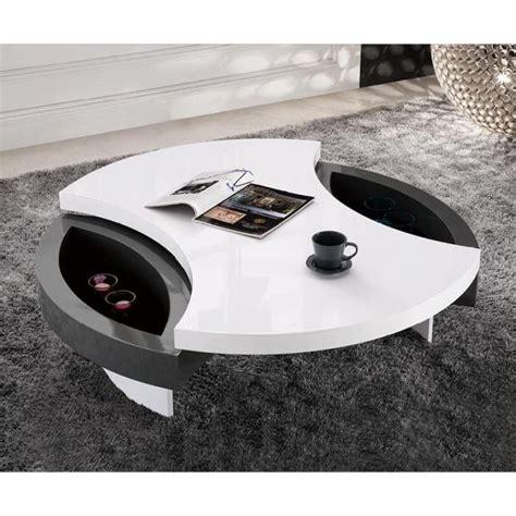 table basse design ronde priam plateau pivota achat vente table basse table basse design