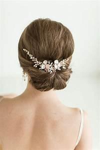 accessoires cheveux coiffure mariage chignon mariee boheme With bijoux mariee boheme