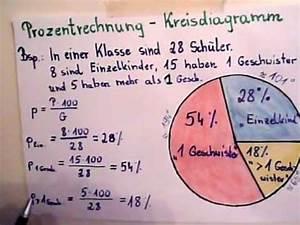 Kreisdiagramm Berechnen : kreisdiagramm erstellen prozentrechnung youtube ~ Themetempest.com Abrechnung
