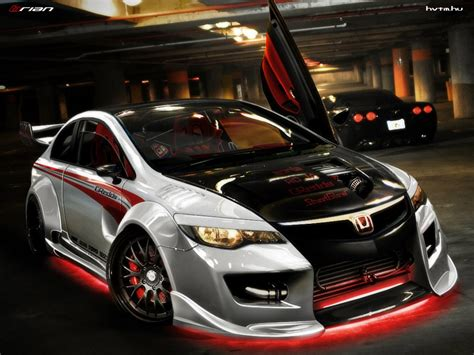 modded cars wallpaper honda civic hatchback modified interior image 258