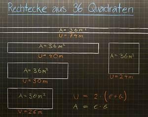 Fläche Berechnen Rechteck : mathematik geometrie tafelbilder umfang fl che rechteck quadrat 8500 bungen ~ Themetempest.com Abrechnung