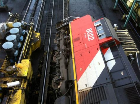 Rotary Coal Car Dumper by Prince Rupert Rail Images Bank Rotary Dumper Mishap