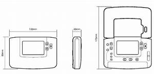 Termostato Honeywell Cm907