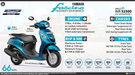 yamaha fascino fascinofy your world