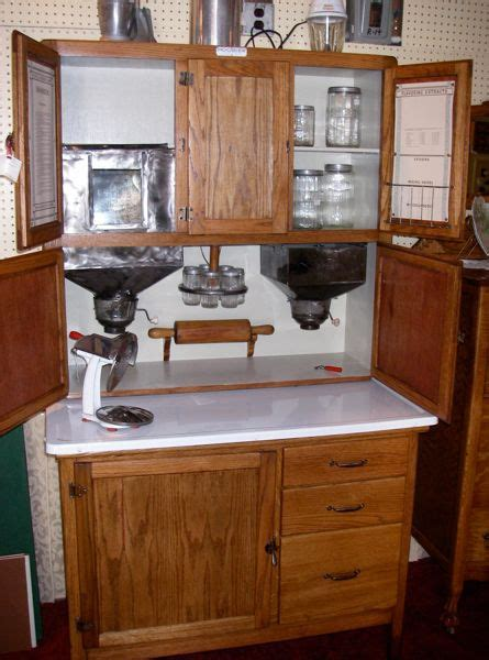 i so wish i had the room for a hoosier cabinet for