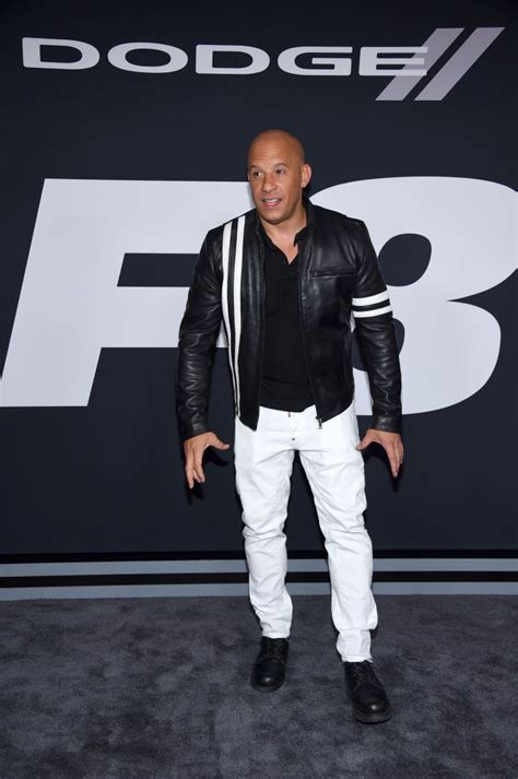 Styliste - The Fate of the Furious pirmizrāde Ņujorkā Vin Diesel apmeklējot filmas The Fate of ...