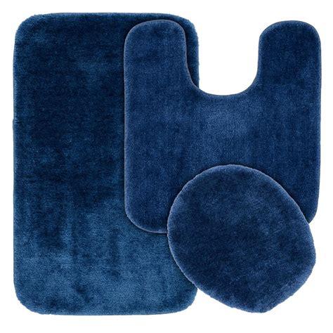 garland rug traditional  piece washable bathroom rug set