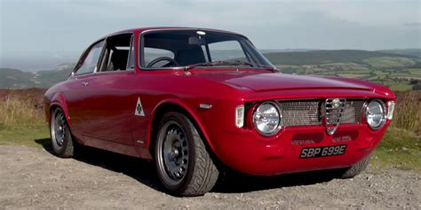 alfa romeo classic gta modified giulia sprint is a beautiful classic alfa romeo