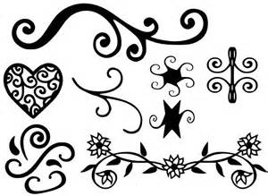 Heart Flourish SVG Files Free