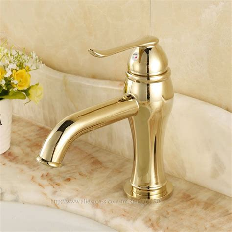 Gold Color Bathroom Faucets gold color bathroom faucets 1500 trend home design