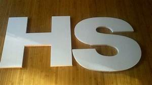 21 diy styrofoam letters guide patterns With giant styrofoam letters