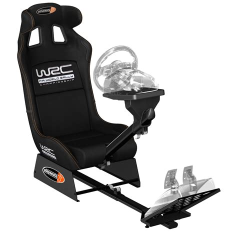 support siege baquet playseats wrc siège simulation automobile noir base noir