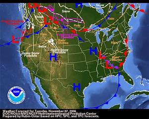 Weather Map For Usa
