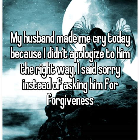 wives share  awful moments  husbands   cry