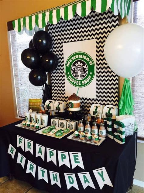 500 x 333 jpeg 31 кб. Starbucks Birthday Coffee Lover Printable Party Pack Banner | Etsy