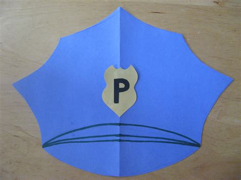 police crafts for preschoolers community helper paper hats stonewall services 548