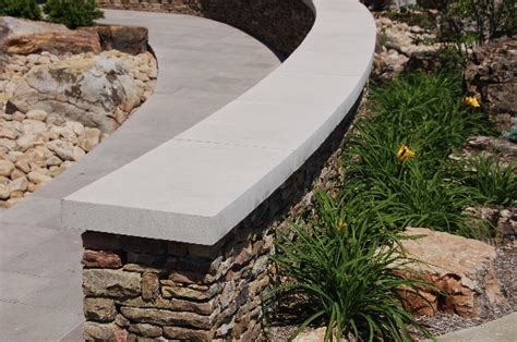 Indiana Limestone Wall Cap  Indianapolis  By Hickory