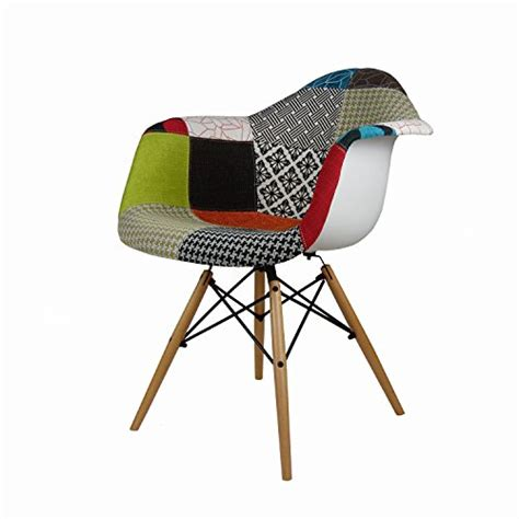 chaise eames patchwork product reviews buy modhaus set of 2 mid century modern