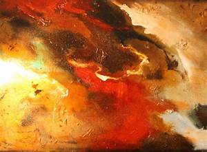 """Earth Tones by Frank Sowells, Jr Abstract 48"""" x 36"""